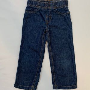 Carters 3T Pull On Denim Blue Pants